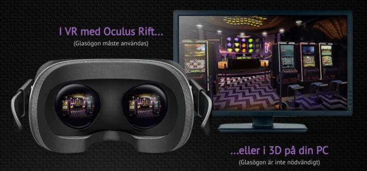 SlotsMillion är först ut med sitt VR-Casino