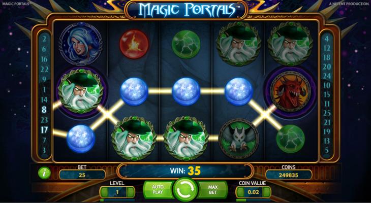 Magic portals casinospel