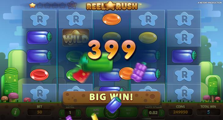 reel rush casinospel