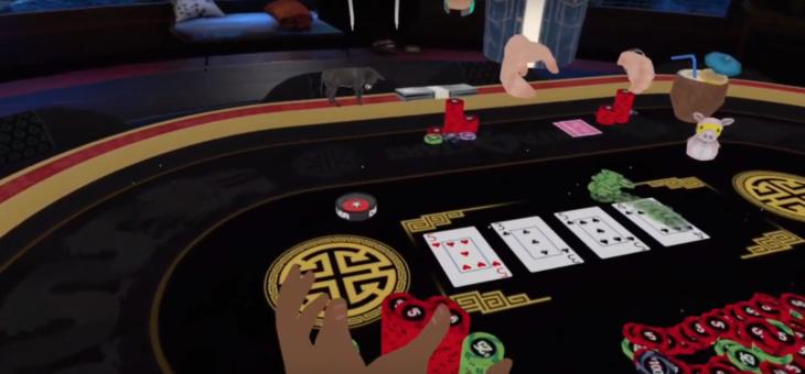 PokerStars VR tillgänglig för Oculus Quest